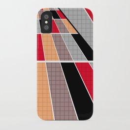 #Geometric #patchwork #14 iPhone Case