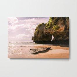 Uluwatu Beach Metal Print