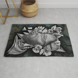 Chaotic Disorders ONE - Original Drawing Rug