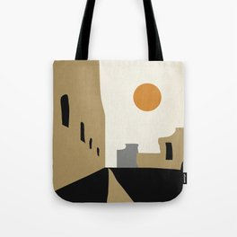 street-Abstract Tote Bag
