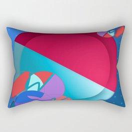 Abstract Joy Rectangular Pillow