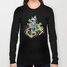 Minecraft World Long Sleeve T-shirt