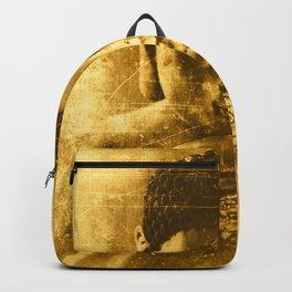 Buddha Gold Backpack