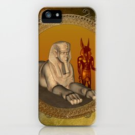 Egyptian sign iPhone Case