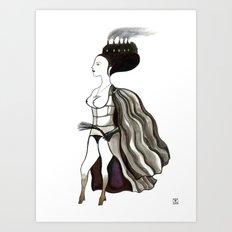 Mother Superior Art Print