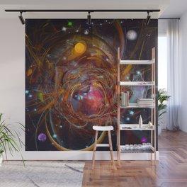 Solar Chaos Wall Mural