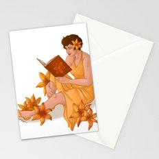 Orange Tiger Lilies Stationery Cards