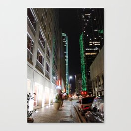 DOWNTOWN DALLAS Canvas Print