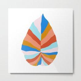 Camryn, rainbow leaf Metal Print