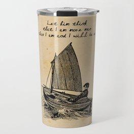 Ernest Hemingway - The Old Man and the Sea Travel Mug