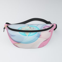 Time Bunny Girl Fanny Pack