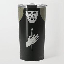 Andrei Rublev (cyrillic) Travel Mug