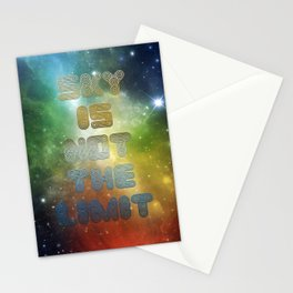 Sky is not the Limit Stationery Cards