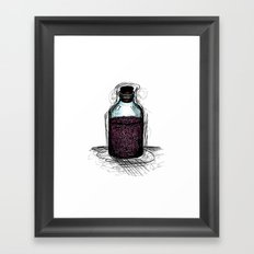 bottle 01 Framed Art Print