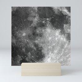 Black & White Moon Mini Art Print