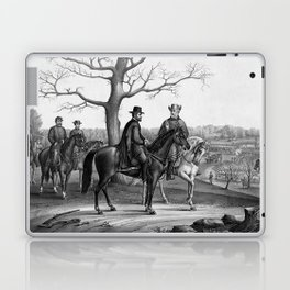 Grant And Lee At Appomattox Laptop & iPad Skin