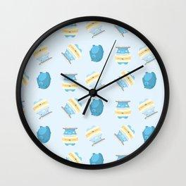 Honey Bears Wall Clock