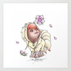I too will Blossom Art Print