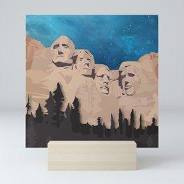 Night Mountains No. 15 Mini Art Print