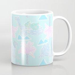 Camel Cabana in Psychedelic Blue Coffee Mug