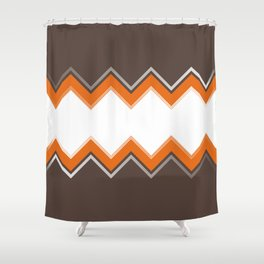 Tangerine Date Shower Curtain