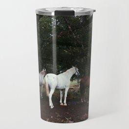 Horse Trio Travel Mug
