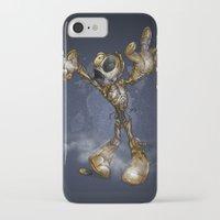 c3po iPhone & iPod Cases featuring ZOMBIE C3PO by alexviveros.net