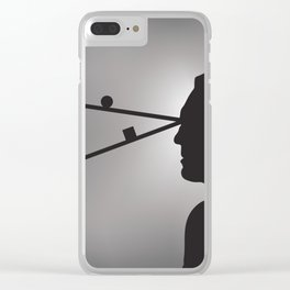 The Prisoner is Being Tested Clear iPhone Case