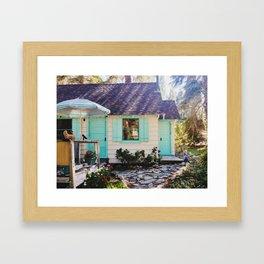 Stevie's Lake Tahoe Cottage Framed Art Print