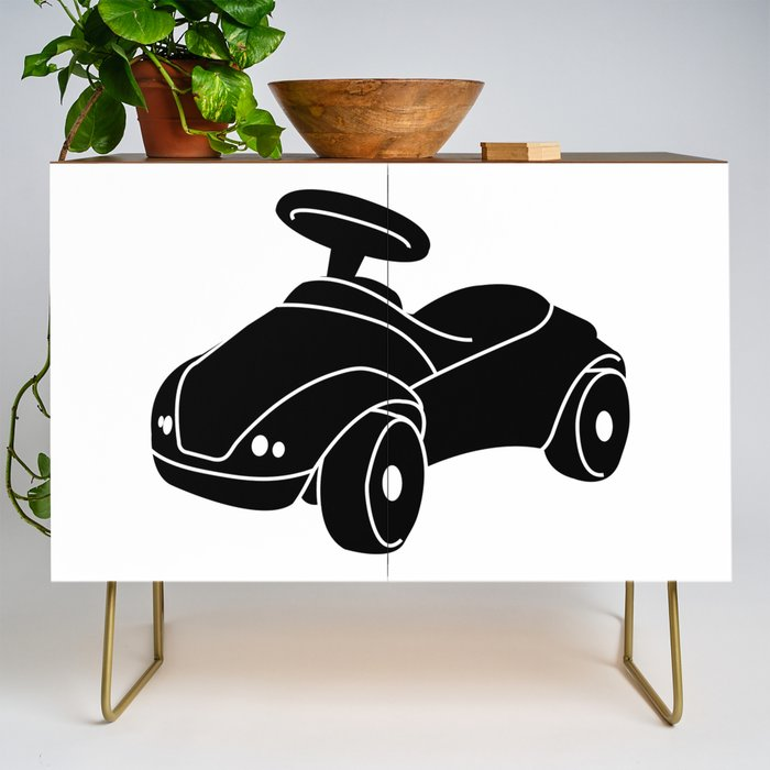 RideOn_Car_Toy_Credenza_by_FunnyImages__Gold__Walnut