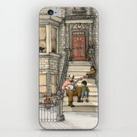 banjo iPhone & iPod Skins featuring Banjo Man by Studio Castillo