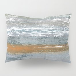 Gray lines Pillow Sham