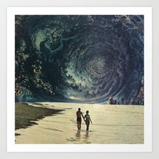 Collage Art Print
