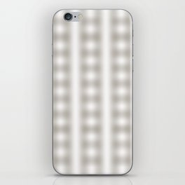 abstract pattern of lines intersecting each other in a square iPhone Skin