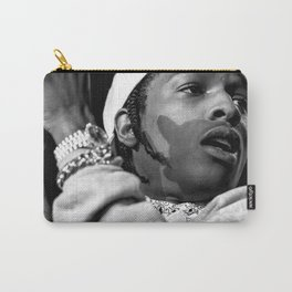 ASAP ROCKY BLACK AND WHITE Carry-All Pouch