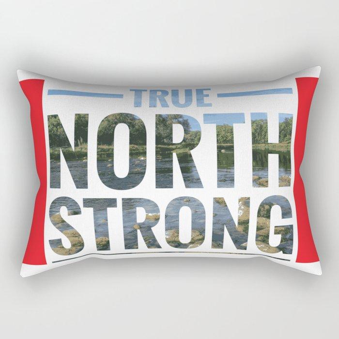 True North Strong Rectangular Pillow