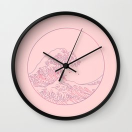The Great Wave Wall Clock