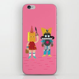 Let's start a band iPhone Skin