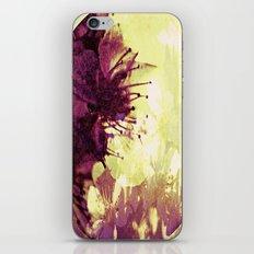 Circle of flowers iPhone & iPod Skin