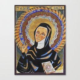 St. Hildegard of Bingen Canvas Print