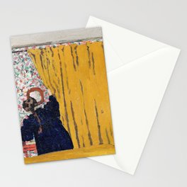 Edouard Vuillard - The Yellow Curtain - Digital Remastered Edition Stationery Cards