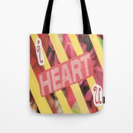 I Heart U. Tote Bag