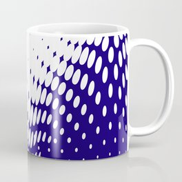 Blue Twist Coffee Mug
