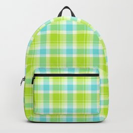 Summer Picnic Plaid 7 Backpack