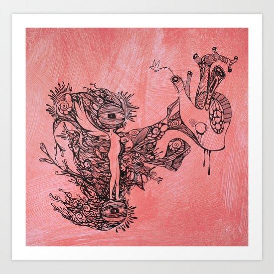 Suspiro Art Print