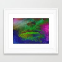 lips Framed Art Prints featuring Lips by LoRo  Art & Pictures