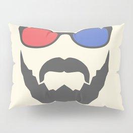 3D beard Pillow Sham