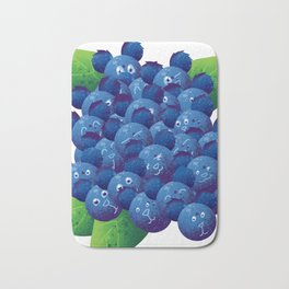Blue Bearies Bath Mat