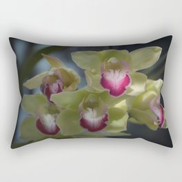 Cymbidium_Orchid_1 Rectangular Pillow