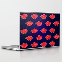 suit Laptop & iPad Skins featuring Akatsuki Suit by bimorecreative
